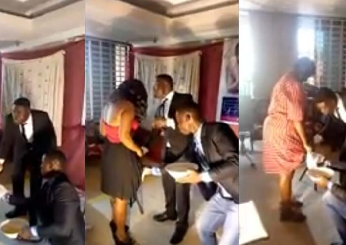 Pastor shaves private parts of female church members